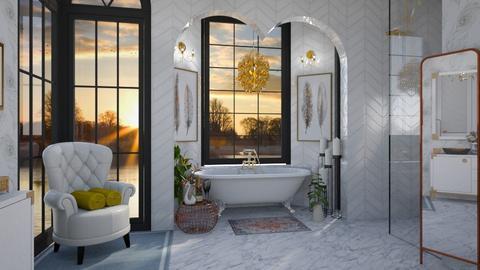 Swan Bathroom - Bathroom - by rachaelphillips636