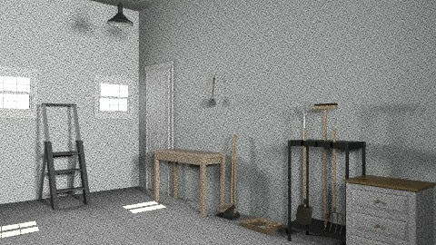 Middle Class Garage - Minimal - Garden - by Pepper710