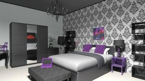 Modern Bedroom - Modern - Bedroom - by JordanFoxi