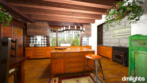 Country Home - Rustic - Kitchen - by Musicman