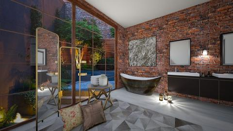 ECLECTIC BATHROOM - Bathroom - by rasty