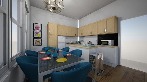 New Kitchen corner3 - Kitchen - by Kmstyles84