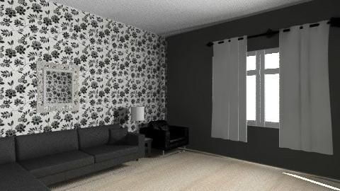 Black n White Sic - Living room - by JA Design