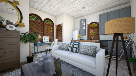 neutral  home offic - Country - Office - by renne