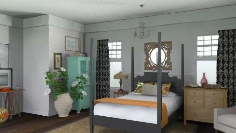 Newport Beach Master Bedroom3 - Vintage - Bedroom - by LizyD