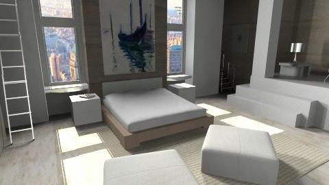 Paradise City - Modern - Bedroom - by annagunbina