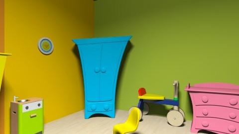 Robot kids room - Kids room - by vydrovamisulka1