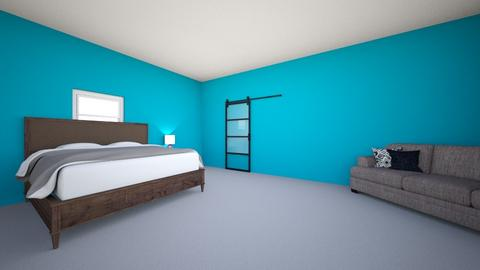 Tessa room - Modern - Bedroom - by katenelson011
