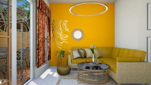 Golden Template  - Glamour - Living room - by HIHELLOHI