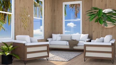 Beach Artisan Flooring - Living room - by millerfam