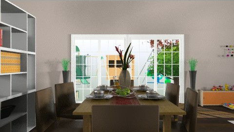 Dining Room - Modern - Dining room - by tanujaw