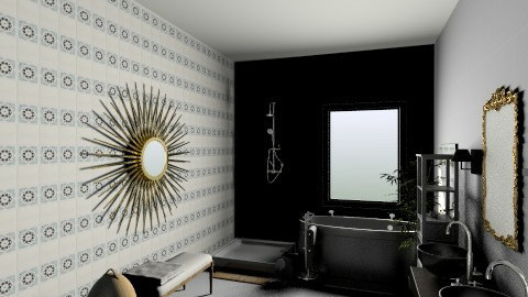 Zen - Eclectic - Bathroom - by zezzenet