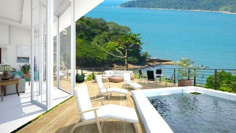 Vista da Praia - Living room - by Roberta Coelho