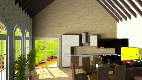 cozinha wood - by thyago123
