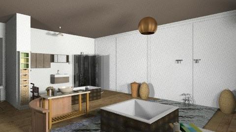 Eco lux bathroom - Vintage - Bathroom - by justbecazz