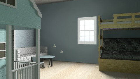 Twin 1 room - Country - Bedroom - by batha2001