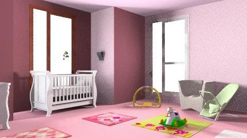 Magdalena - Glamour - Kids room - by mkmada87