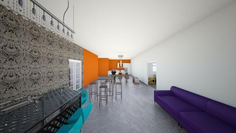 bar dining room kitchen - Dining room - by karolann1005