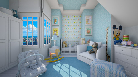 for Rowan - Modern - Kids room - by Senia N