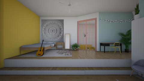 teen dream - Bedroom - by joetee