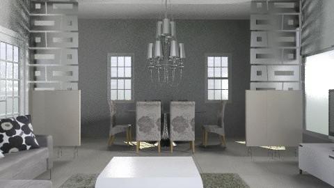 Living room/Dina - Modern - Living room - by AmyMcGrane