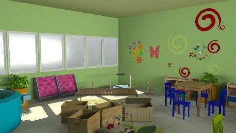 paud rusa - Country - Kids room - by aryantono