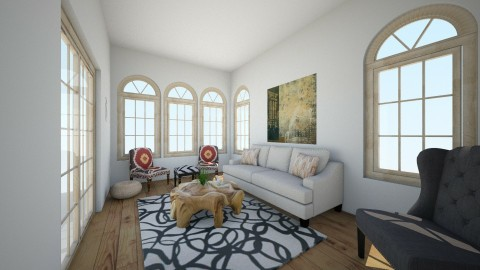 living room 1 - Living room - by thriftydesigns