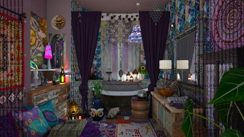 boho bath - by Teri Dawn