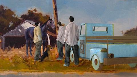 Old Truck - by Valentinapenta