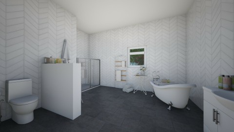 classic bathroom - Classic - Bathroom - by elisa sagie