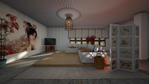 japan - Living room - by ClaraBart