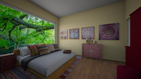 Bohemian design Bedroom - Bedroom - by Lili Cooley