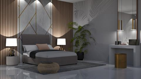 Wall panelling - Modern - Bedroom - by jagwas