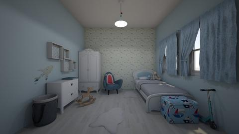 Baby Boy - Kids room - by DomiMat
