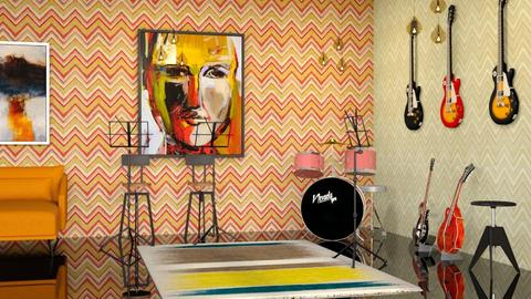 Music Room - Eclectic - by millerfam