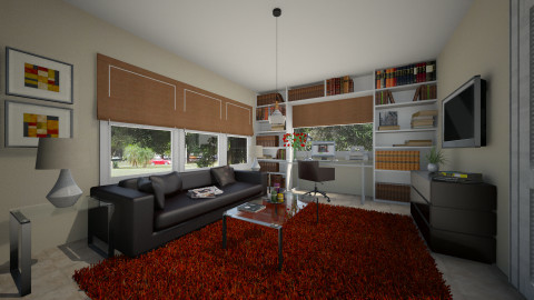 Den From Theodora - Eclectic - Office - by CarolaCN