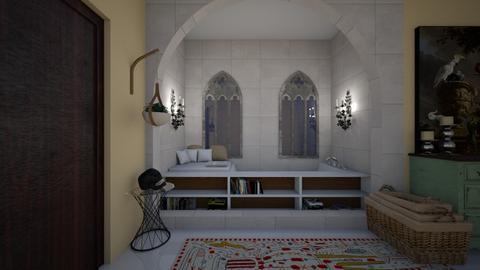Eclectic Bathroom - Global - Bathroom - by kristenaK