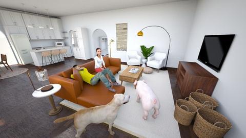 custom - Living room - by kylieelaine