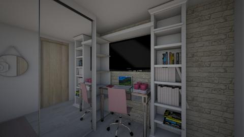 Home office - Bedroom - by moniquelps