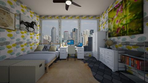 Flu - Bedroom - by scourgethekid