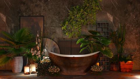 Draco Squamis Sunt - Bathroom - by Twilight Tiger