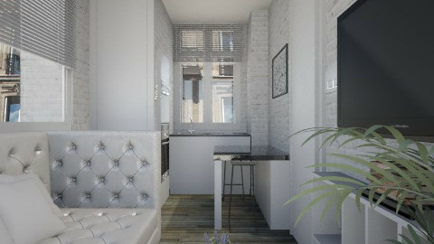 ParisTinyRoom002 - Modern - by Ivana J