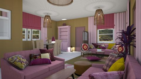 For Joanne Galle_680 - Eclectic - Living room - by chania