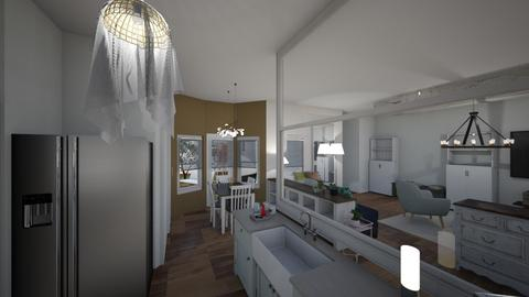 Living room4 - Kitchen - by Niva T