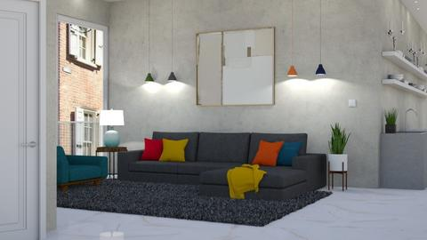 Modern Playful - Living room - by lovedsign