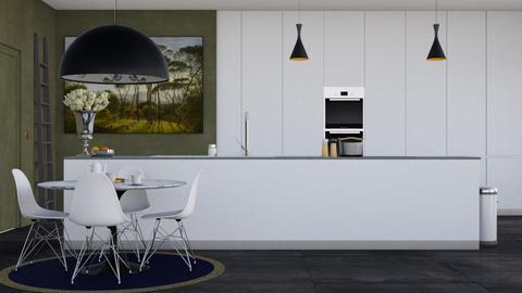 Modern living kitchen - Modern - Kitchen - by HenkRetro1960