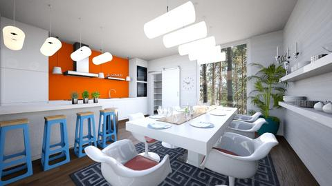 Eclectic Kitchen - Kitchen - by amyskouson