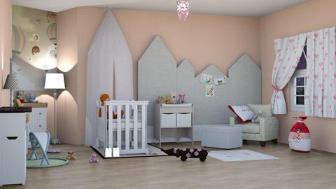 baby room - by maritaaslamazashvili