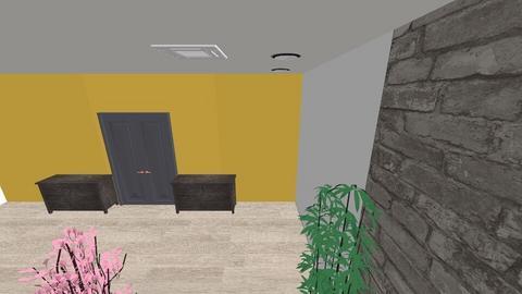 yellow haze - Living room - by EstrEbElloh