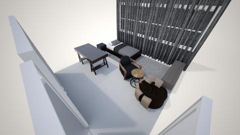 Room - Minimal - Bedroom - by cfamx